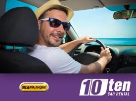 Ten Car Rental offers you the best service at the prices. Prepay online and save up to 20% on your rental car. Call Now Toll Free USA (877) 836-2271 MEX (800) 836-2274